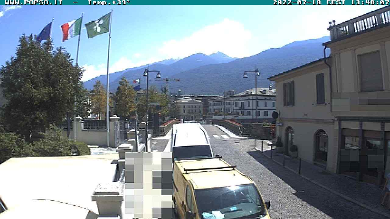 Sondrio: da Piazza Garibaldi al Cantun