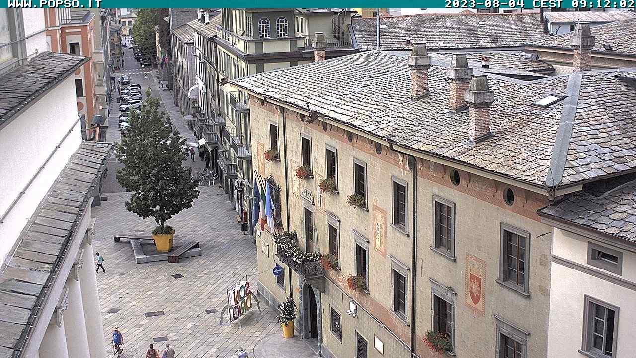 Sondrio Piazza Campello