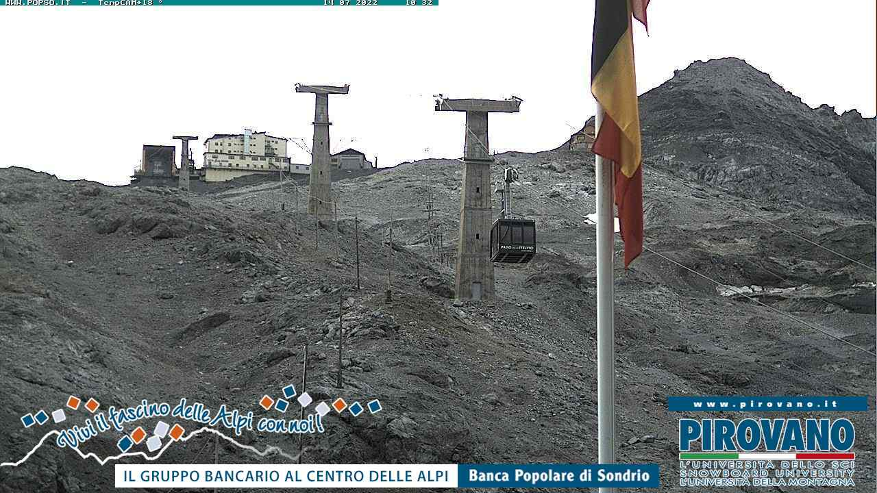 Webcam en Funivia Passo dello Stelvio Zoom, Passo Stelvio (Alpes Italianos)