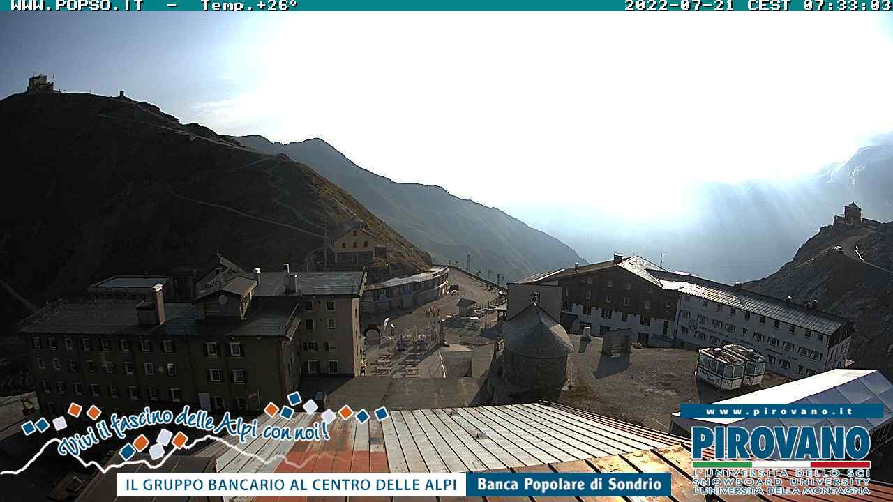 Current Conditions on the Passo Stelvio