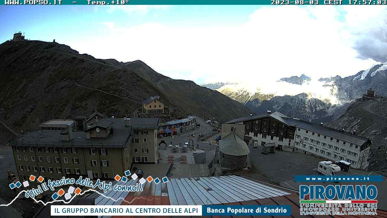 Webcam en Pirovano, Passo Stelvio (Alpes Italianos)