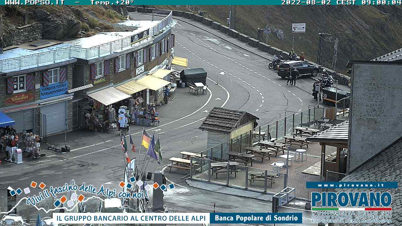 Webcam - Stelvio pass
