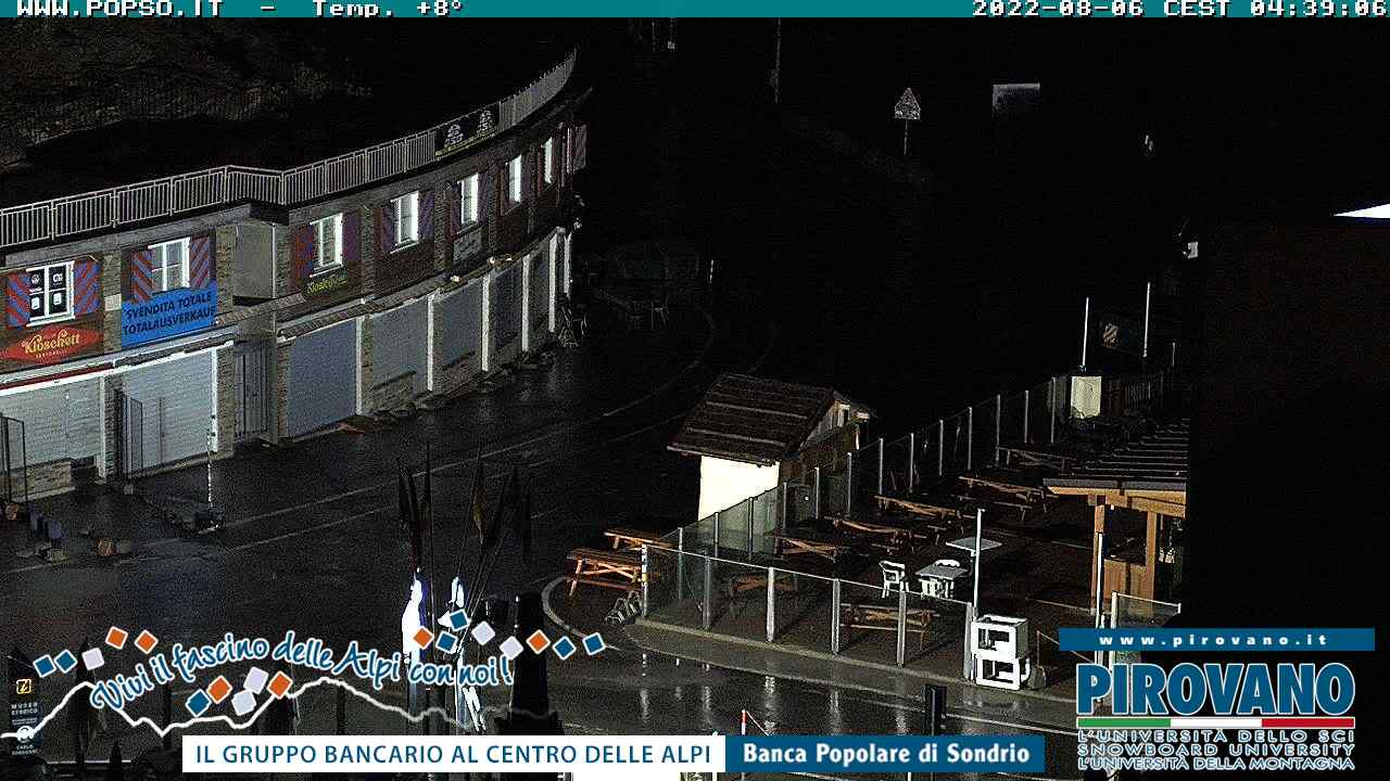 Passo Stelvio / Prad am Stilfserjoch Webcam