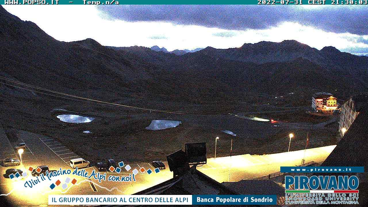 Webcam - Verso la valle del Braulio
