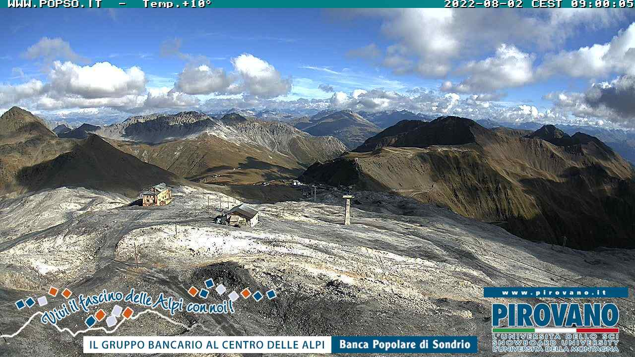 Webcam Stilfserjoch-Bergwelt