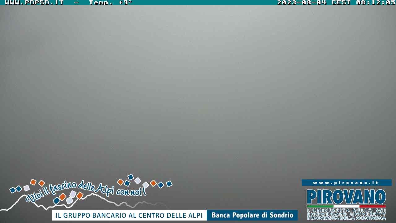 Webcam en Rifugio Piccolo della Pirovano, Passo Stelvio (Alpes Italianos)