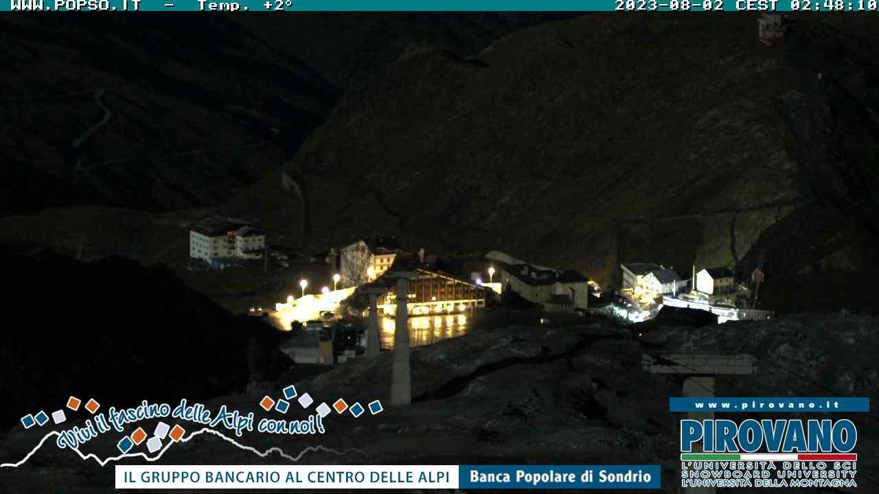Webcam funivia Passo dello Stelvio-Trincerone