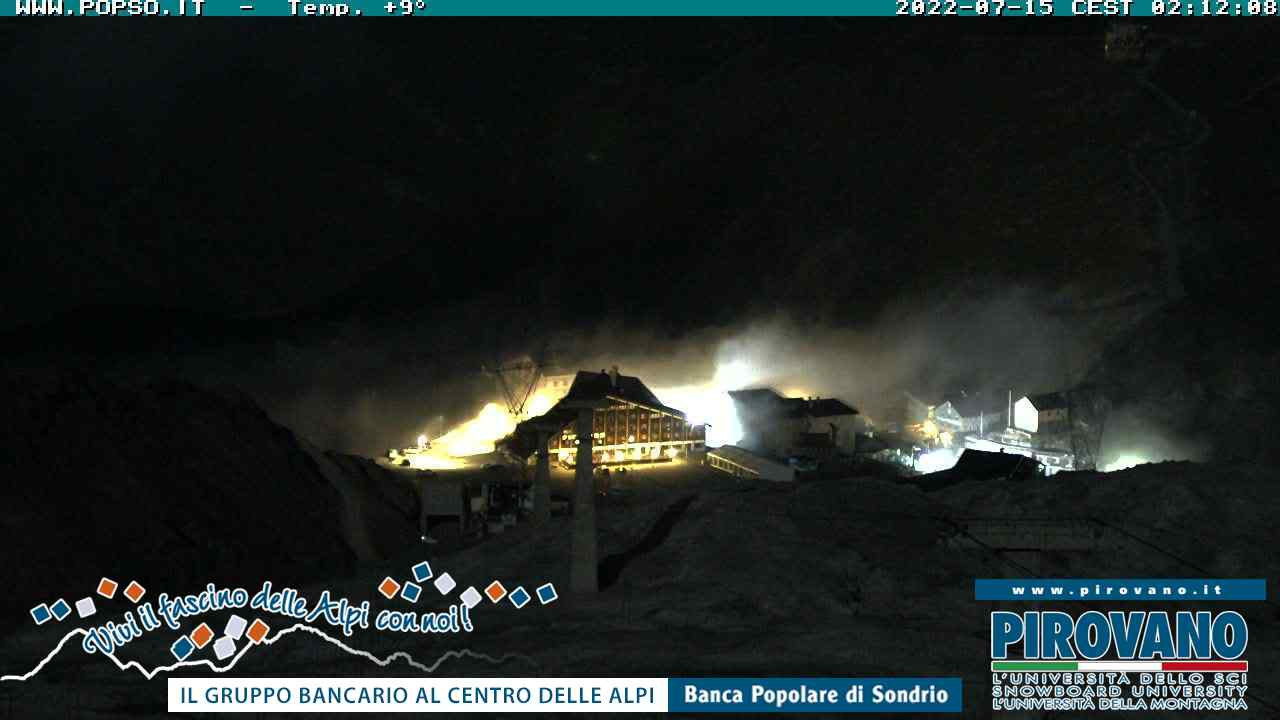 Webcam en Crocevia di Culture, Passo Stelvio (Alpes Italianos)