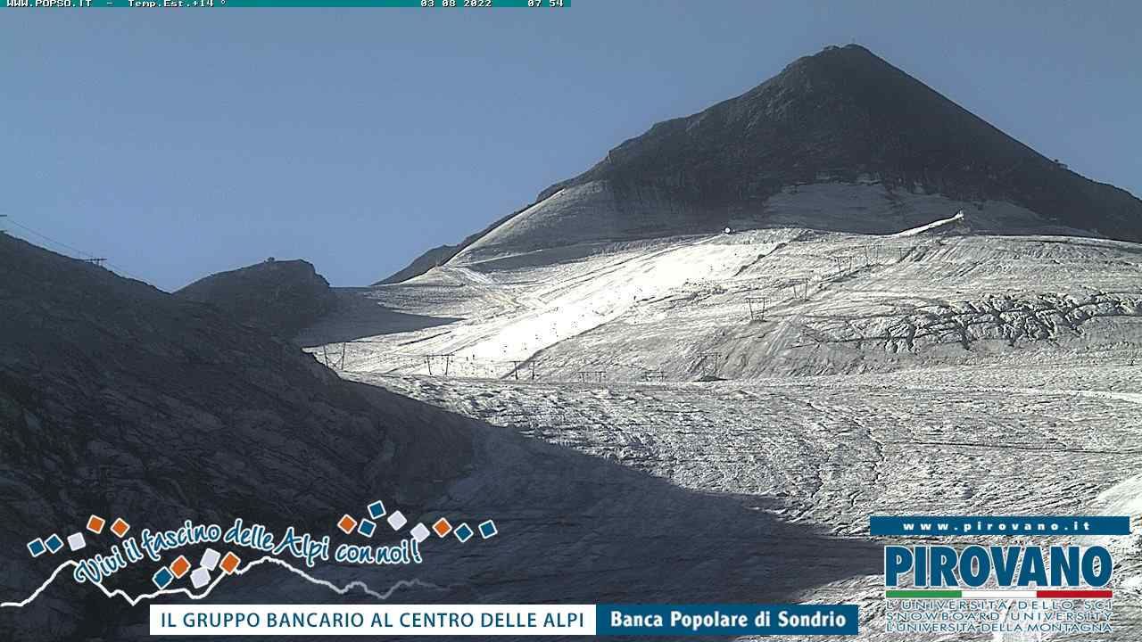 Webcam - Geister peak and ski slope