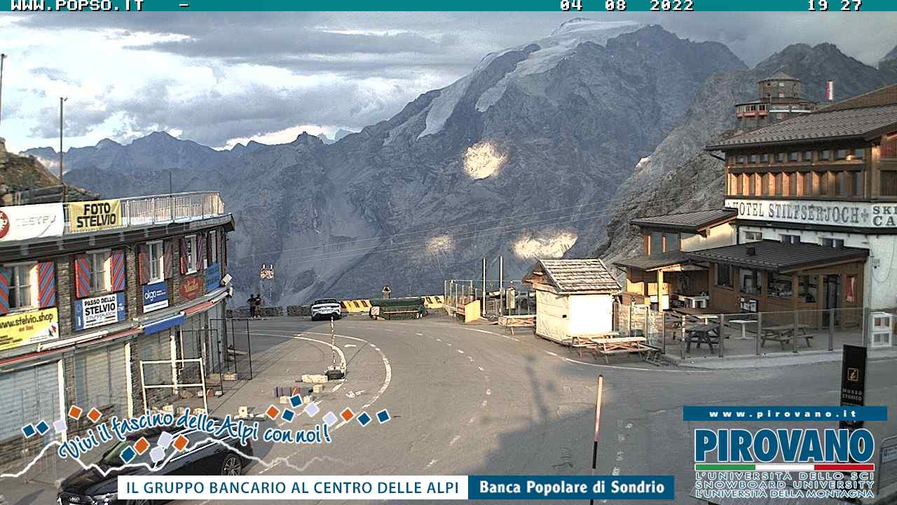 Stilfser Joch Webcam